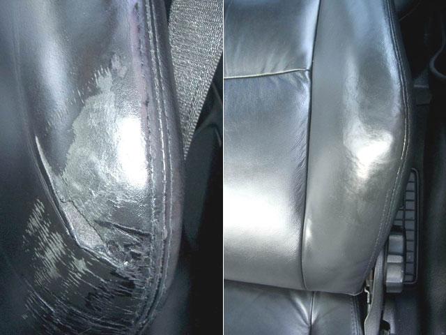 Beispiele Unserer Lederaufbereitung Lederreparatur